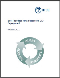 TITUS White Paper Best Practices for Successful DLP Deployment