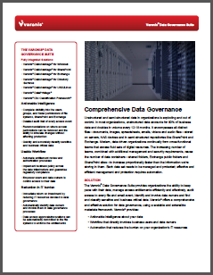 Varonis Data Sheet Data Governance Suite