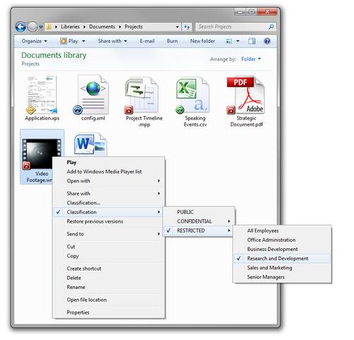 titus classification for desktop