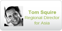 Tom Squire, Regional Director for Asia, HANDD - Data Classification Policy Experts