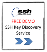 SSH Key Discovery Service Demo